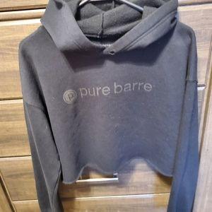 Pure Barre Crop Hoodie